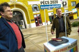 Vita a Pécs Pride kapcsán: közmeghallgatásért gyűjtik az aláírást