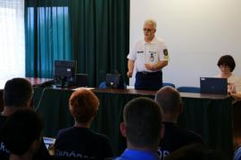 A rendőröknek is megkezdődött a szezon a Balatonnál