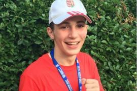 Báki Alex aranyérmet nyert a kaposvári junior EB-n