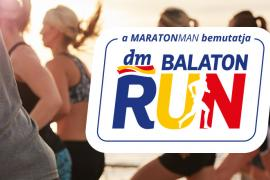 Idén először rendezik meg a dm Balaton Run-t Zamárdiban